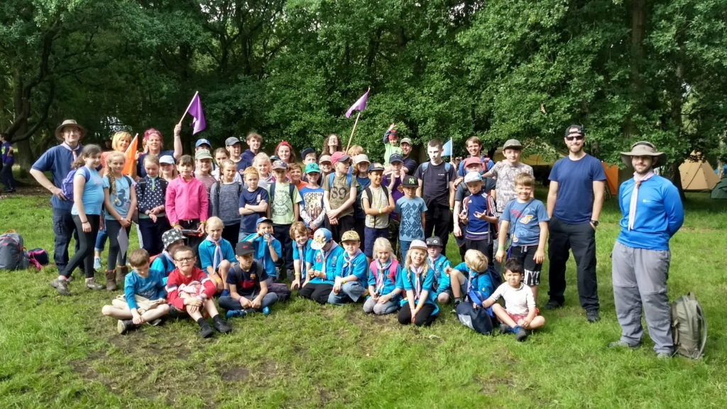 First Belper Beavers, Cubs, Scouts and Leaders